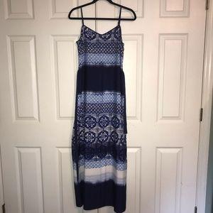 Ann Taylor Print Maxi Dress